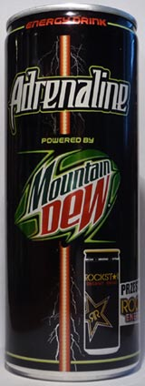 Adrenaline Mountain Dew Rockstar (PL) [250ml]