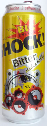 Big Shock! Bitter sladce hořký [500ml]