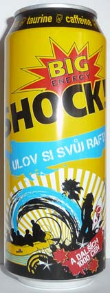 Big Shock! Ulov si svůj Raft! [500ml]
