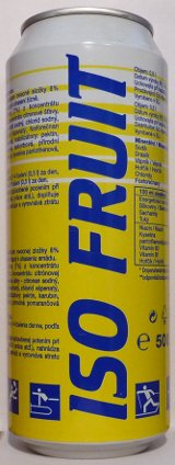 ISO Fruit citron a pomeranč [500ml]